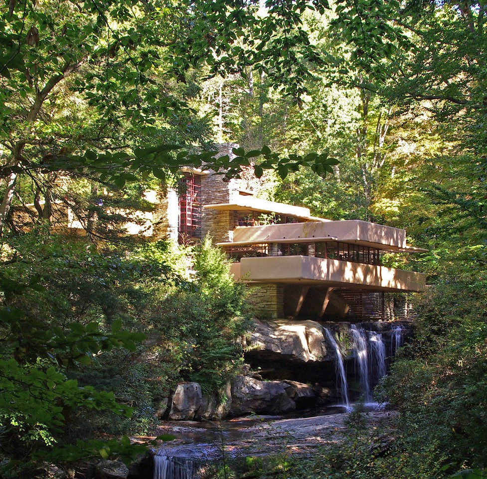 Gardens And Frank Lloyd Wright In Pennsylvania, USA