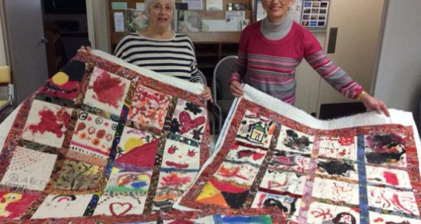 NAIDOC Artwork Made Into Quilts